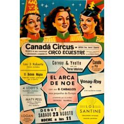 CANADA CIRCUS. EL ARCA DE NOE