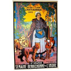 SEMAINE BERRICHONNE de l'INDRE CHATEAUROUX 1925