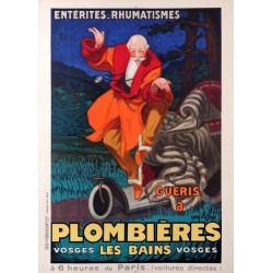 PLOMBIERES les BAINS. 1931