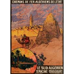 LE SUD ALGERIEN. TEMACINE-TOUGGOURT...