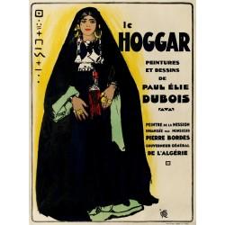 LE HOGGAR. PEINTURES ET DESSINS. ALGERIE