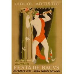 FESTA DE BACUS - CIRCOL ARTISTIC