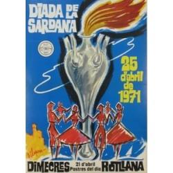 DIADA DE LA SARDANA. 1971