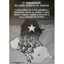 5º ANNIVERSARIO UNIONE PATRIOTICA KURDISTAN