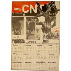 CNT-AIT 1982. CALENDARI