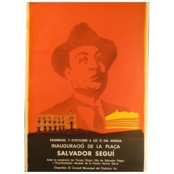 INAUGURACIO PLAÇA SALVADOR SEGUI