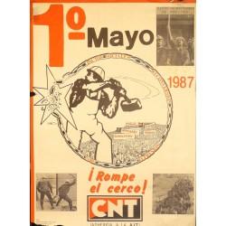 CNT 1º MAYO ¡ROMPE EL CERCO!