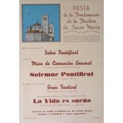 IGUALADA.FIESTA PROCLAMACION BASILICA