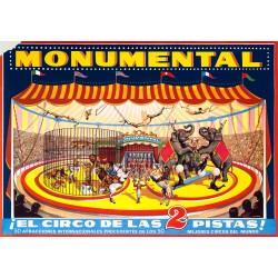 MONUMENTAL. ¡EL CIRCO DE LAS 2 PISTAS!