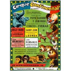 CIRQUE CONTINENTAL DE FRANCIA. CIRCO Y FIERAS