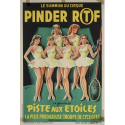PINDER RTF. LA PLUS PRODIGIEUSE TROUPE DE CYCLISTES