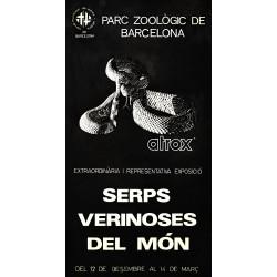 SERPS VERINOSES DEL MON. ZOO DE BARCELONA
