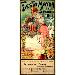 FIESTA MAYOR DE SABADELL 1911