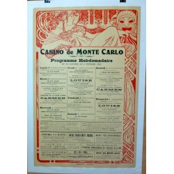 CASINO DE MONTE CARLO 1922
