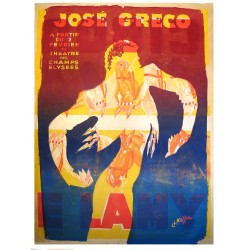 JOSE GRECO. THEATRE DES CHAMPS ELYSEES