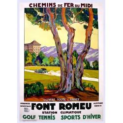 FONT-ROMEU GOLF TENIS. SPORTS D'HIVER