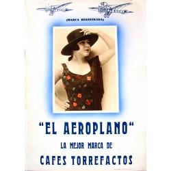 """""""EL AEROPLANO"""" CAFES TORREFACTOS"""
