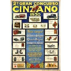 2º GRAN CONCURSO CINZANO 1930