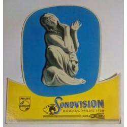 PHILIPS MODELOS SONOVISION 1958