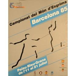 CAMPIONAT DEL MON D'ESGRIMA. BARCELONA 85