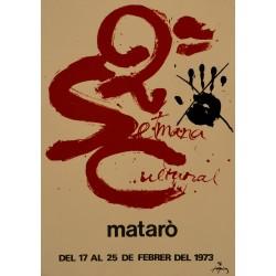 2ª SETMANA CULTURAL MATARO. TAPIES