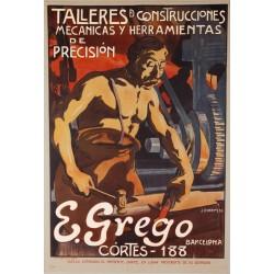 TALLERES DE CONSTRUCCIONES MECANICAS Y DE PRECISION. E. GREGO