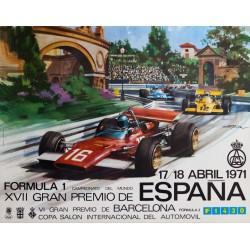 FORMULA 1. XVII GRAN PREMIO DE ESPAÑA 1971