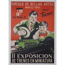 II EXPOSICIÓN TRENES MINIATURA