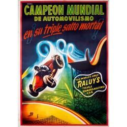CAMPEON MUNDIAL DE AUTOMOVILISMO