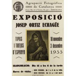 EXPOSICIO JOSEP ORTIZ ECHAGÜE. 1933