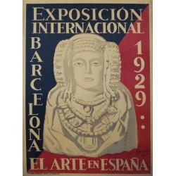 EL ARTE EN ESPAÑA. EXPO BARCELONA 1929