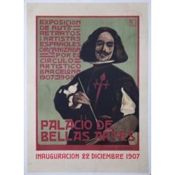 PALACIO DE BELLAS ARTES EXPOSICIÓN AUTO RETRATOS. VELAZQUEZ