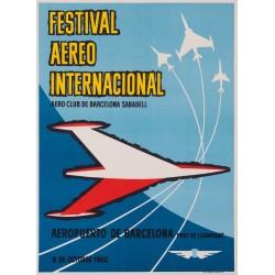 FESTIVAL AEREO INTERNACIONAL. AERO CLUB SABADELL. 1960