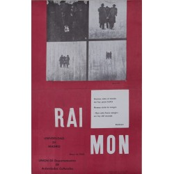 RAIMON. UNIVERSIDAD DE MADRID. MAYO 1968