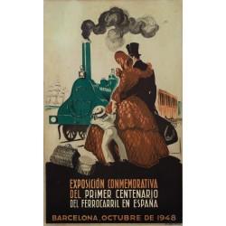 EXPOSICIÓN 1er. CENTENARIO FERROCARRIL ESPAÑA