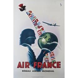 AIR FRANCE. RESEAU AERIEN MONDIAL