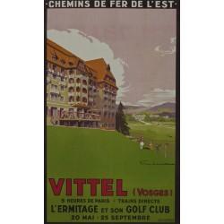 VITTEL (VOSGES) L'ERMITAGE ET SON GOLF CLUB