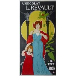CHOCOLAT L. REVAULT. IL EST BON