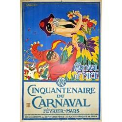 CARNAVAL DE NICE. 1928. CINQUANTENAIRE
