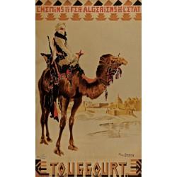 TOUGGOURT. CHEMINS DE FER ALGERIENS