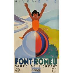 FONT-ROMEU. HIVER-ETE 1800m