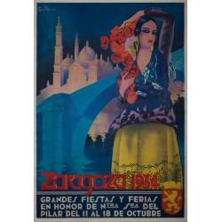 ZARAGOZA 1934, FIESTAS Y FERIAS DEL PILAR