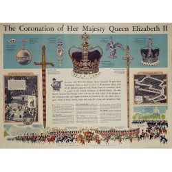 THE CORONATION OF HER MAJESTY QUEEN ELIZABETH II