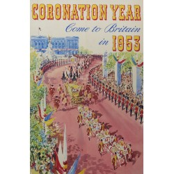 CORONATION YEAR COME TO BRITAIN IN 1953