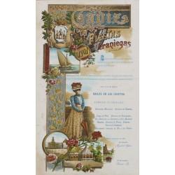 FIESTAS VERANIEGAS 1901 CADIZ
