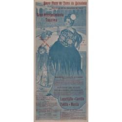 NUEVA PLAZA DE TOROS DE BARCELONA 1902