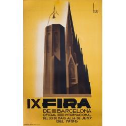 IX FIRA DE BARCELONA 1936