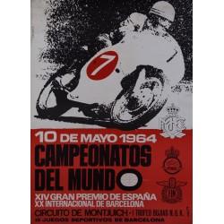 MOTO CLUB DE CATALUÑA. CAMPEONATOS DEL MUNDO. 1964