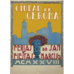 GERONA FERIAS Y FIESTAS DE SAN NARCISO 1928