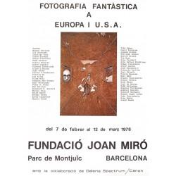 FOTOGRAFIA FANTASTICA A EUROPA I USA. FUNDACIO JOAN MIRÓ i FERRÀ, JOAN (Barcelona 1893 - Palma de Mallorca 1983)